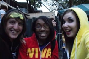 Allie, Whitney and myself at Jannus