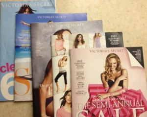 Catalogs I received in a months time