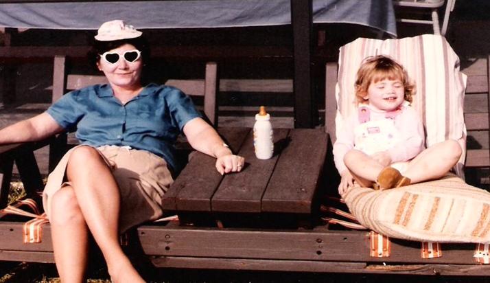 Nan and I