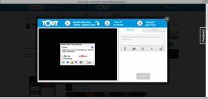 Tout - recording screen