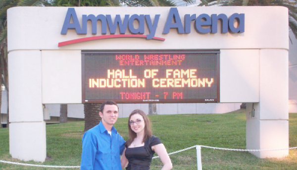 Hall of Fame Induction 2008