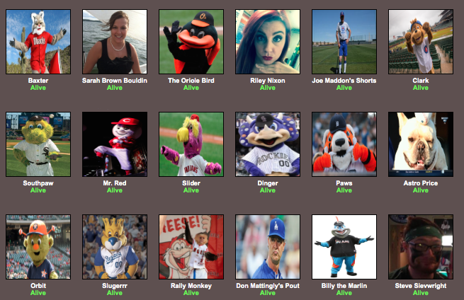 2015 World Series Hunger Games