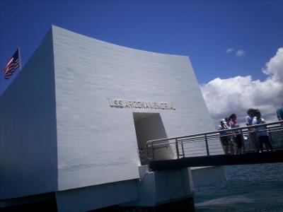Arizona Memorial in May 2006