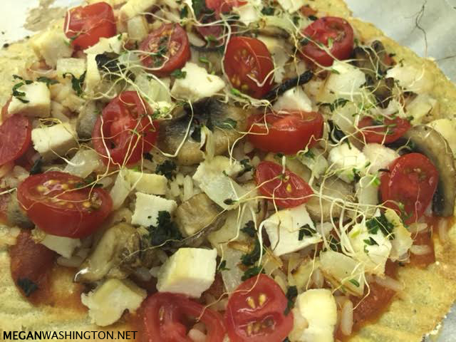 Recipe: Quinoa Pizza Crust
