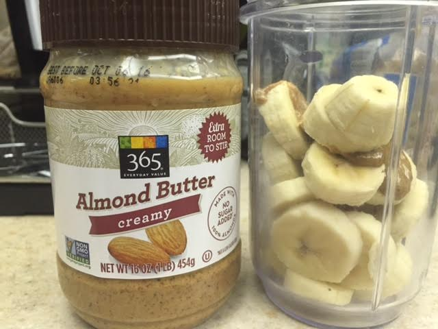 Recipe: Banana & Almond Butter Smoothie