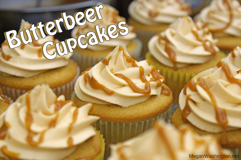 Recipe: Butterbeer Cupcakes