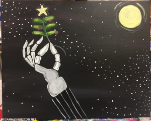 Painting with a Twist - Nightmare Before Christmas