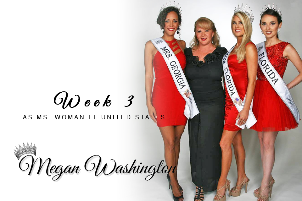 Week 3 as Ms. Woman Florida United States