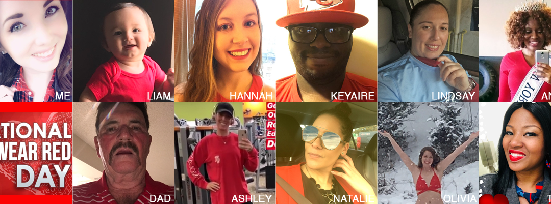National Wear Red Day 2019